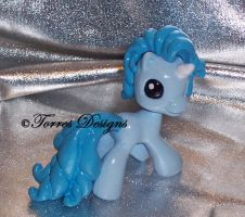 Custom MLP Pony Unicorn Summon Final Fantasy OOAK by TorresDesigns