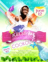 Graduation Party Invitation 2 by AnotherBcreation