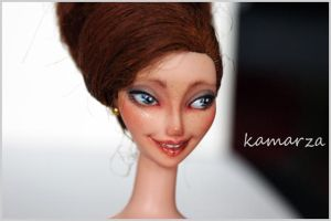 Dolores Face OOAK Doll Repaint by kamarza