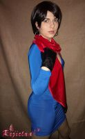Carla Radames RE6 cosplay test II by Rejiclad