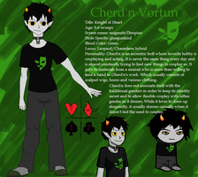 Homestuck OC: Cherd'n Vortun by AquaArtist532