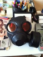 My HUNK (Resident Evil) mask is finished. by BlueEyesMaster
