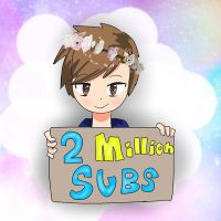 THIS IS SO LATE OMG: 2 million subs by Sushilover218er