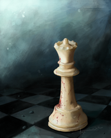 Chess Piece by Imaginesto
