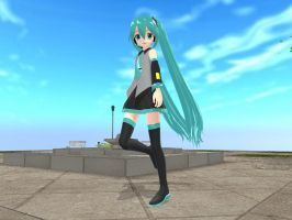 MMD A walk in the park by pianomanjojo