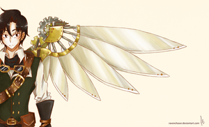 Steampunk Wings by ravenchaser