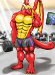 Training the muscles. by Vakamatje