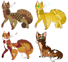 30 point adoptables CLOSED by Agavny