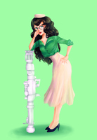 50'sstuck Jade by Enveeous