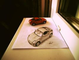 Nissan 350Z (3D) by EvgenyS