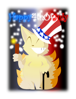 Happy Independence Day! by MasaBear
