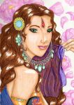 The Unveiled Arabian Princess by Zefie-13