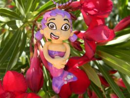 Oona Bubble Guppies Necklace - Polymer Clay by ThePetiteShop