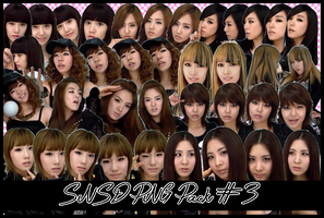 SNSD PNG Pack #3 [Run Devil Run 3D] by ThisIsJoy13
