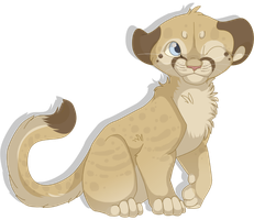 Mountain Lion Cub by MBPanther