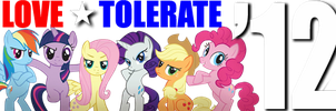 LOVE-TOLERATE '12 Campaign sig by shadesmaclean