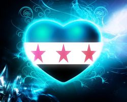 Syrian Freedom Heart Wallpaper by Hichampro