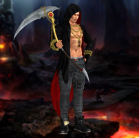 Rig(Halloween) Dead or Alive 5 Ultimate by xHildegardVonKronex