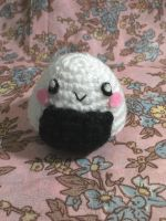Onigiri (rice ball) amigurumj by NVkatherine