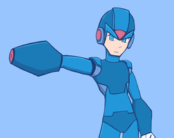 Megaman X by JaredHedgehog