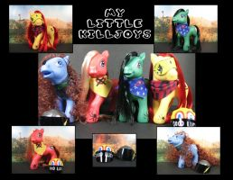 My Little Killjoys by maskedzone