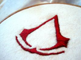 Assassin's Creed Embroidery by Chardoz
