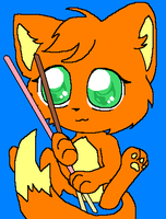 Pocky Cat 4 sonnybun by silver-hedgehog123