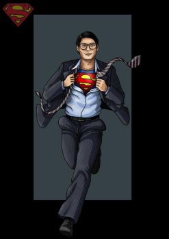 clark kent  -  commission by nightwing1975