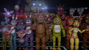 Five Night's At Freddy's 1 Year Anniversary update by lunargamer10