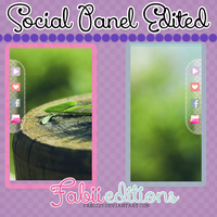Social Panel Edited by fabii27