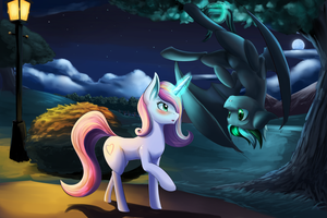 Midnight meeting by DLowell