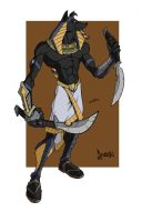 Anubis by fullthrottle