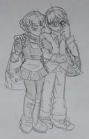 Modernized Danial and Sara by the-Rose-of-Blue