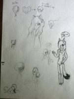 once more a doodle page by goicesong1