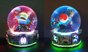 Pop FIzz Custom Snow Globe by kodykoala