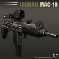 Ingram MAC-10 by TheBadPanda2