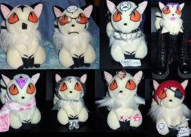 The different faces of Kirara by Katangriel