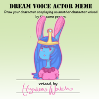 Armonia: Minnie Voice Actor meme by fancyfur