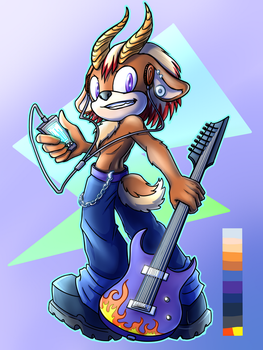 Rocky The Antelope by TheDarkShadow1990