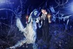 Emily and Victor- Corpse bride by NatalieCartman