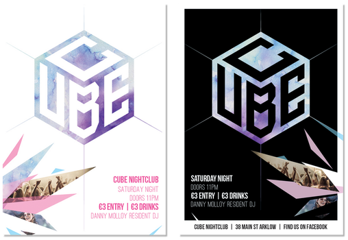Cube Posters by inkfun