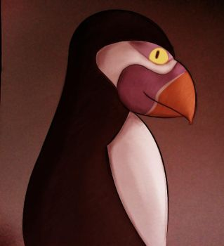 Hans the Puffin by Lingonrise