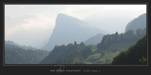 The Black Mountain by Crooty