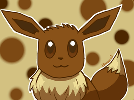 #133 Eevee by Zonalupi