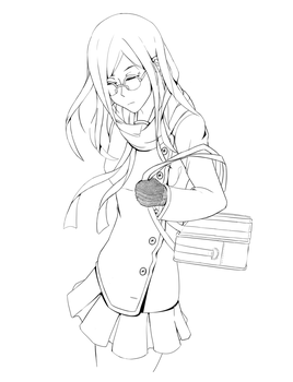 Sound! Euphonium lineart by Tefrin