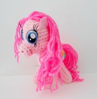 Pinkie Pie Amigurumi Plush by MadameWario