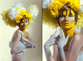 Blossom: Yellow by FlexDreams
