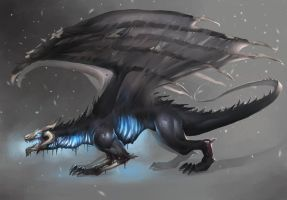Dragon 3 by Midfinger