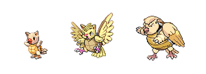 Pokemon Fusions III by Loz-Jenova