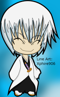 Chibi Ichimaru Colored by Xphire906